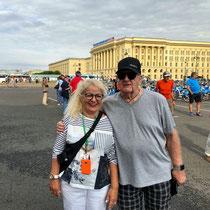 St. Petersburg | Rastrelli-Platz | Vor dem Smolny-Institut