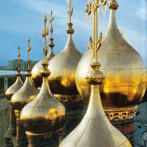 *Moskau | Kreml | Kuppeln der «Oberen Erlöser-Kathedrale» | 1679-1681