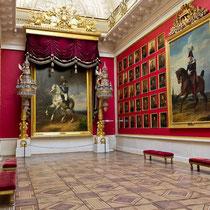 St. Petersburg | Eremitage | Ahnengalerie in einem der Empfangsräume