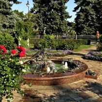 Moskau | Kreml | Sehr schön angelegter «Stadtpark»