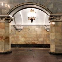 Moskau | Metro | Spontanaufnahme
