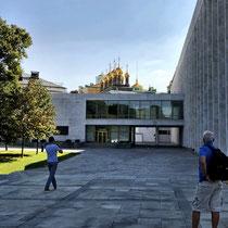 Moskau | Kreml | «Staatlicher Kreml-Palast» | 1961-1969 | Architekten M. Posochin, A. Mndojanz u.a.