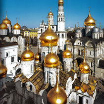 *Moskau | Kreml | Kuppel der Kreml-Kathedralen
