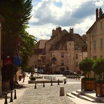 Beaune: Blick von »Notre-Dame« auf die Altstadt