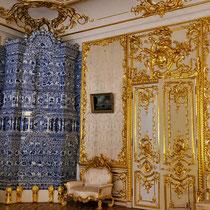 Puschkin | Katharinenpalast | Hier ist alles «Gold, was glänzt.»
