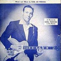 Carl Perkins «Bluesuedeshoes poster»