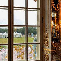Puschkin | Katharinenpalast | Blick von Grossen Saal auf die «Bediensteten-Gemächer»