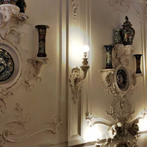 Puschkin | Katharinenpalast | Opulente Wanddekorationen «soweit das Auge reicht»