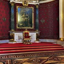 St. Petersburg | Eremitage | Kleiner Thronsaal