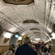 Moskau | Metro | Station «Belorusskaja»