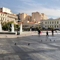 «Kotzia Square/City Hall» : 100m vor unserem Hotel