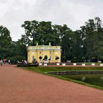 Puschkin | Katharinenpalast | Einer der unzähligen Pavillons in einer der weitläufigen Parkanlagen