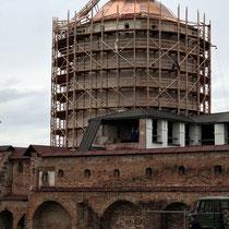 Gorizy | Kirillo-Beloserski-Kloster | Auch hier wird aufwändig renoviert.