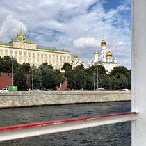 Moskau | Moskwa | «Rüstkammer des Moskauer Kremls» und «Borowizki-Turm»