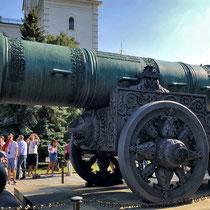 Moskau | Kreml | Iwanowskaja-Platz | «Zaren-Kanone» | 1586 Meister Andrej Tschochow