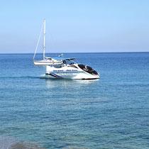 2013 | Rhodos-Stadt | Hafenrundfahrt in Glasbodenboot. |