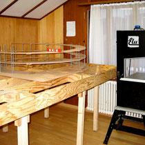 2009 | Die Bandsäge wurde später in der Werkstatt aufgestellt