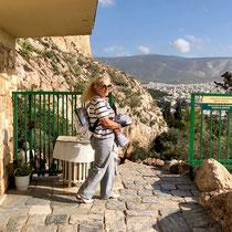 Auf der Akropolis.