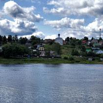 Uglitsch | Unterwegs, von Jaroslawl kommend