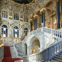 St. Petersburg | Eremitage | «Jordantreppe» im Winterpalais | Auch «Gesandtentreppe» genannt