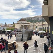 «Monastiraki Square» mit der «Church of the Pantanassa»