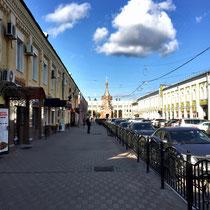 Jaroslawl | Stadt-Spaziergang | Richtung Markthallen