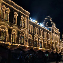 Moskau | «Roter Platz» | Obere Handelsreihen (GUM) | 1889-1893 | Architekt A. Pomeranzew, Ingenieur W. Schuchow