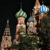 Moskau | «Roter Platz» | «Basilius-Kathedrale» (Kathedrale Mariä Schutz und Fürbitte)