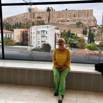 Neues Akropolis Museum: «Museums-Blick» auf die Akropolis