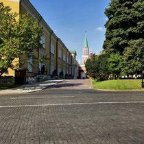 Moskau | Kreml | Rundgang | Sicht auf «Roten Platz»