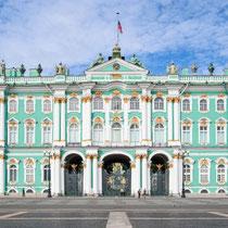 St. Petersburg | Eremitage | Blick über den Schlossplatz
