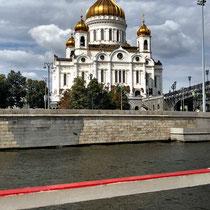 Moskau | «Christi-Erlöser-Kirche» | Nach dem Entwurf des Architekten Konstantin Thon | Wiederaufgebaut in den 1990er Jahren.