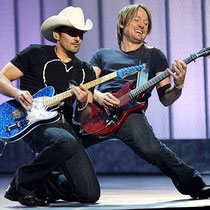 Brad Paisley and Keith Urban the best guitar players today!
