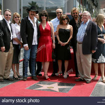 Brooks and Dunn receive a star on the Hollywood Walk of Fame on Hollywood Blvd in Los Angeles