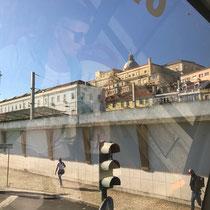 Altstadt-Sicht von der Avenida 24 de Julho