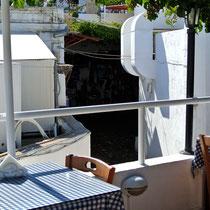 2013 | Lindos | In einem der unzähligen Dachterrassen-Restaurants.
