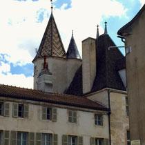 Beaune: Altstadt und »Notre-Dame«-Turm