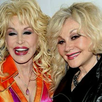 Dolly and and her younger sister Stella Parton