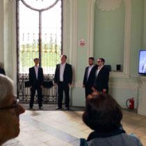 Puschkin | Katharinenpalast | Unvergessliche Darbietung russischer Lieder von 4 herausragenden Sängern in einem der vielen Pavillons