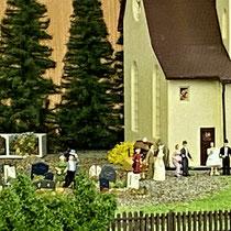 2021 | «Heinzikon» | Die Hochzeitsgesellschaft auf dem Weg in die Kirche.
