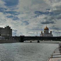 Moskau | Moskwa | «Christi-Erläser-Kirche»