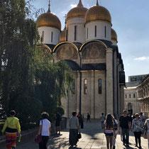 *Moskau | Kreml | «Maria-Gewand-Niederlegungskirche» | 1484-1486