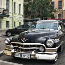 St. Petersburg | Stadtrundgang | Trezzini Palace *****Boutique Hotel | Hotel-Limousinen