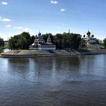 Uglitsch | Weiterfahrt nach Moskau