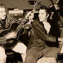 Carl Perkins & Elvis Presley