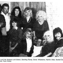 Dolly with brothers & sisters