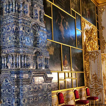 Puschkin | Katharinenpalast | Ahnengalerie in einem Empfangsraum