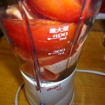 トマト・グレープフルーツジュース  夜
