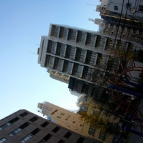 周りのマンションとかすんげぇ造りがオサレ。