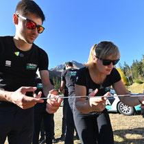 Der Tour de France-Vierte Emanuel Buchmann beim Teambuilding in den Osttiroler Bergen (Copyright: Expa Pictures)